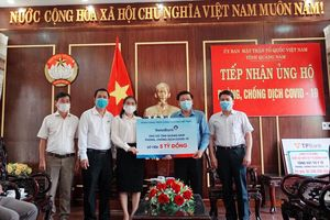 Nhiều doanh nghiệp ủng hộ Quảng Nam phòng chống dịch Covid-19