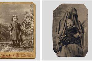Nhân vật bí ẩn ngồi sau những bức ảnh chụp trẻ em thời xưa