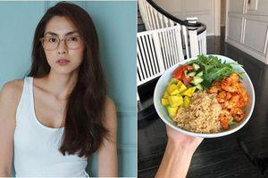 Tò mò thực đơn ăn sáng để giữ dáng của Tăng Thanh Hà