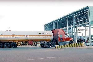 Trạm nạp gas Thị Vải lập kỷ lục xuất hàng mới
