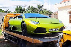 Vì sao 2 'siêu xe' Lamborghini, Merceders bị tạm giữ ở Quảng Bình?