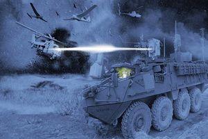 Mỹ xây dựng trung đội thiết giáp 'khủng' gắn pháo laser lên tới 300 kW, bắn hạ tên lửa hành trình