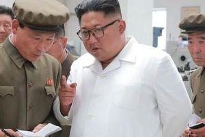 Ông Kim Jong Un kiểm tra tình hình lũ, lo lắng về mùa màng