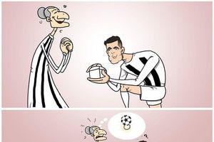 Juventus đấu Lyon: Không phạt đền, vẫn có tiệc dành cho Ronaldo?