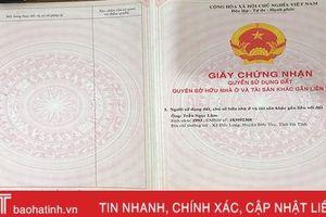 'Thanh niên ngoan hiền' dùng bìa đất giả, lừa đảo gần 1,5 tỷ đồng ở Hà Tĩnh