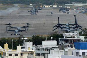 Nhật Bản cấm máy bay không người lái bay qua các cơ sở quân sự Mỹ