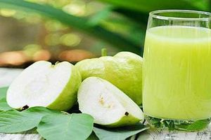 Uống nước ép ổi giá 'rẻ như bèo' nhưng công dụng chẳng kém nhân sâm, giúp giảm cân, làm đẹp da