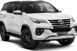 Toyota Fortuner TRD phiên bản giới hạn ra mắt tại Ấn Độ, giá từ 1 tỷ đồng