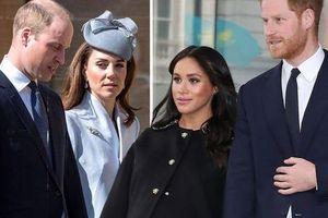 Rời khỏi hoàng gia, Harry - Meghan vẫn không tránh khỏi 'dây mơ rễ má' với vợ chồng anh trai