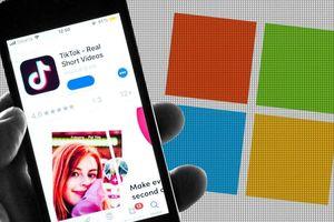 Nóng: Microsoft có thể đang đàm phán mua lại toàn bộ TikTok