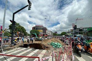 Hé lộ nguyên nhân 'hố tử thần' khổng lồ bất ngờ xuất hiện ở Sài Gòn sau trận mưa lớn