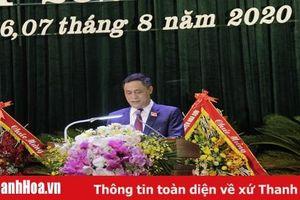 Đồng chí Nguyễn Tiến Thuận tái đắc cử Bí thư thị ủy Bỉm Sơn, nhiệm kỳ 2020-2025