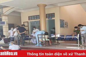 Trung tâm Kiểm soát bệnh tật tỉnh Thanh Hóa kích hoạt các đội cơ động phòng chống dịch hỗ trợ TP Sầm Sơn