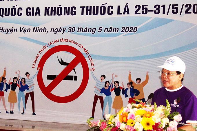 Không hút thuốc là bảo vệ sức khỏe