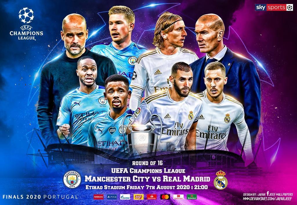 Man City – Real Madrid: Hãy học hỏi MU nếu muốn thắng ở Etihad!