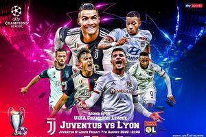 Juventus - Lyon: Chờ xem phép màu của Cristiano Ronaldo