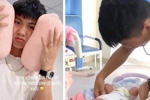 Những khoảnh khắc đầu tiên khi làm bố của Phan Văn Đức: Hạnh phúc, rạng rỡ nhưng cũng lúng túng khi lần đầu chăm sóc 'thiên thần nhỏ'