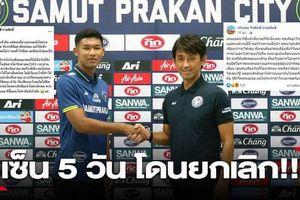 Kỳ lạ chuyện CLB Thái Lan ký hợp đồng 3 năm nhưng tự hủy sau 5 ngày, xù luôn tiền đền bù khiến cầu thủ 'túng quẫn'