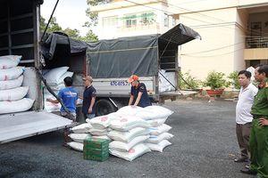 4 xe tải chở gần 40 tấn đường nhập lậu