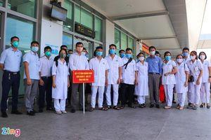 38 y tá, bác sĩ Phú Thọ đến Quảng Nam hỗ trợ chống dịch Covid-19