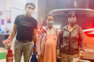 Xe 0 đồng chở bà bầu đi đẻ mùa dịch ở Đà Nẵng