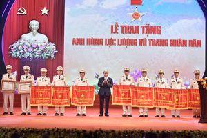 Chùm ảnh: Thủ tướng dự Đại hội Thi đua vì an ninh Tổ quốc của lực lượng CAND