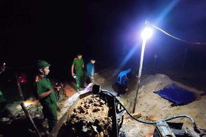 Phát hiện 2 vụ khai thác vàng trái phép trong đêm ở Hà Tĩnh