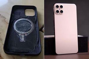 Chi tiết lạ trên mặt lưng iPhone 12 tiết lộ sản phẩm mới của Apple