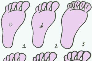 Nhìn bàn chân để biết đàn ông có tướng làm quan hay không