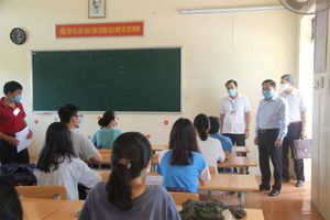 Lạng Sơn: Chủ tịch UBND tỉnh kiểm tra công tác thi tốt nghiệp THPT