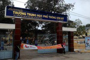 382 thí sinh ở Quảng Ngãi phải dừng thi tốt nghiệp THPT vì Covid-19