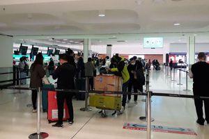 Chuyến bay đưa hơn 340 công dân Việt Nam từ Australia hạ cánh an toàn xuống sân bay Tân Sơn Nhất