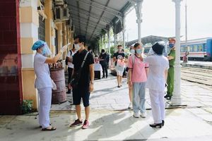 Lập Tổ kiểm soát dịch bệnh tại ga Hải Phòng