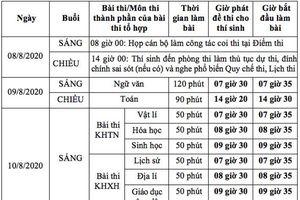 26.186 thí sinh không thể tham dự kỳ thi tốt nghiệp THPT do ảnh hưởng của Covid-19