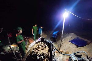 Hà Tĩnh: Nửa đêm khai thác trộm vàng