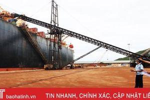 Nỗ lực chống dịch và thông quan tại cảng biển lớn nhất Hà Tĩnh