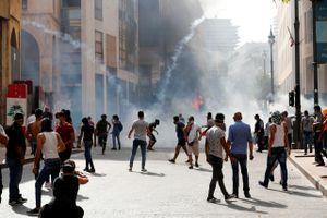 Vụ nổ ở Beirut: Biểu tình lớn phản đối giới chức Liban tắc trách
