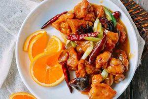 Cách làm món thịt gà sốt cam lạ miệng, thơm ngon chồng con thi nhau gắp