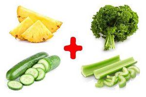 Chăm chỉ xay nhuyễn 4 thứ này để uống mỗi ngày, mỡ thừa tiêu tan nhanh đến khó tin