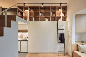 Cải tạo căn hộ diện tích 22m2 đầy đủ tiện nghi