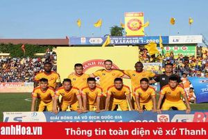 CLB Thanh Hóa tiếp tục tham gia giải vô địch quốc gia LS V.League 2020