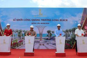 Móng Cái khởi công xây dựng quảng trường biển