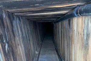 Mỹ phát hiện đường hầm bí mật dài gần 400 mét ở biên giới với Mexico