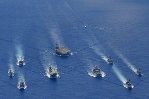 Tàu sân bay USS Ronald Reagan tập trận 'trấn an' đồng minh và đối tác trong khu vực