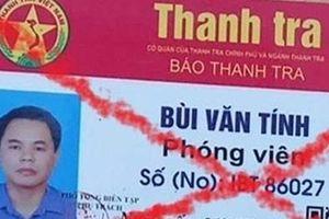 Lái xe 'mua' thẻ phóng viên Báo giá 3 triệu đồng xin bỏ qua vi phạm