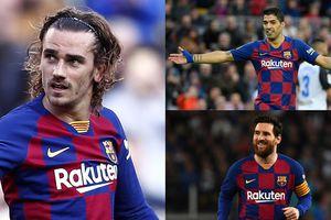 Đội hình mạnh nhất của Barca trước Napoli: Sự trở lại của tam tấu