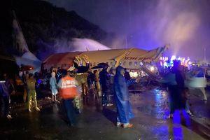 Máy bay sơ tán 184 công dân của Ấn Độ gặp nạn, 17 người chết