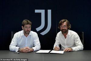 Juventus bổ nhiệm huyền thoại Pirlo như thế nào?