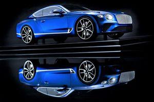 Mô hình Bentley Continental GT - như xe thật, chế tác trong 300 giờ