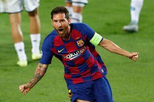 Messi thăng hoa trong trận thắng của Barca